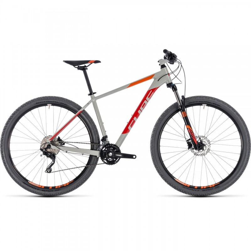 "Bicicleta CUBE ATTENTION Gri Rosu 29"" 2018"