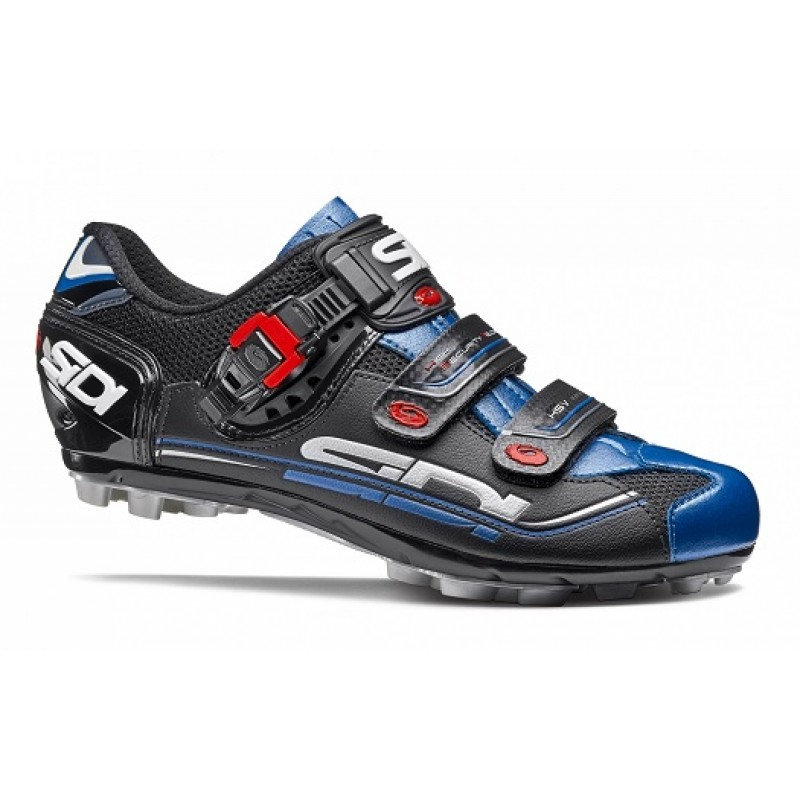 Pantofi ciclism MTB Sidi EAGLE 7 Negru Albastru