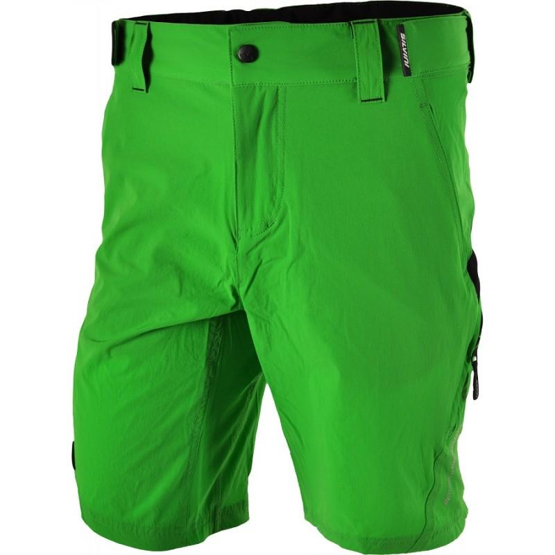 Pantaloni ciclism SILVINI ELVO verde