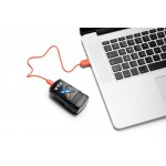 Far Axa Greenline 30 lux USB negru