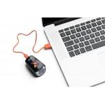 Far Axa Greenline 8 lux USB negru