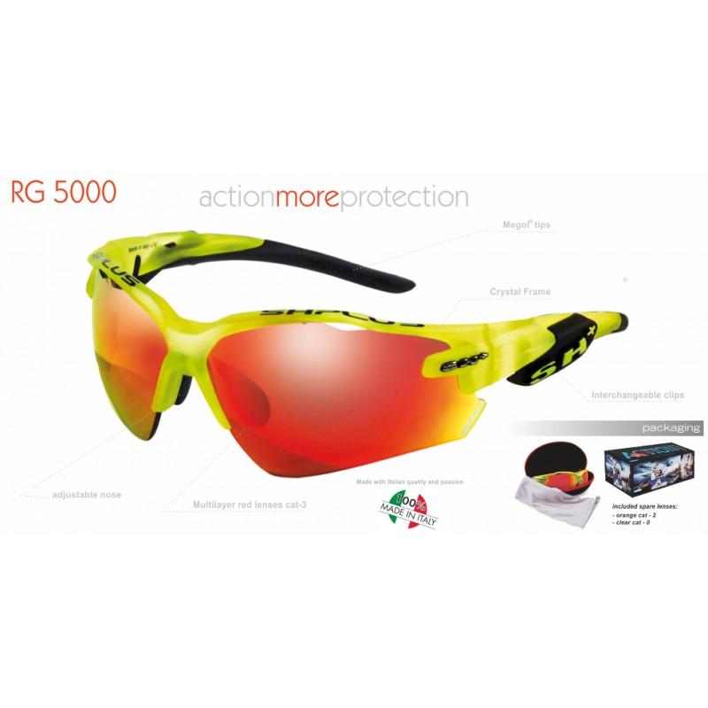 Ochelari SH+ RG 5000 Crystal Yellow