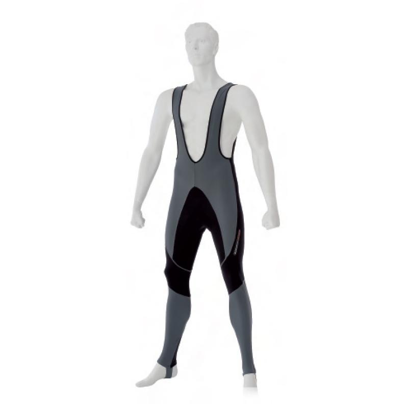 Pantaloni lungi cu bretele LOOK Ultra BibTight Gri